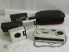 Vintage miniature Minolta 16 MG S spy camera pouch nice clean pre owned as is