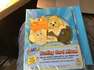 WEBKINZ Trading Card Album Close out New in package with Code