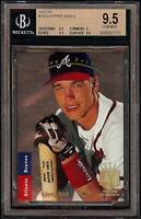 1993 SP Foil #280 Chipper Jones Atlanta Braves BGS 9.5 Gem Mint = PSA 10 HOF