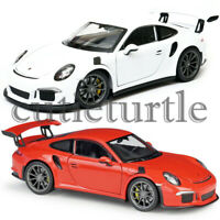 Welly 2016 Porsche 911 GT3 RS 1:24 - 1:27 Diecast Model Toy Car 24080