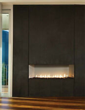 "38"" Boulevard Contemporary Linear Vent-Free Fireplace, Mv with On/Off Remote Lp"