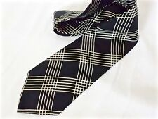 BOSS HUGO BOSS cravatta tie 100% seta silk original made in Italy new