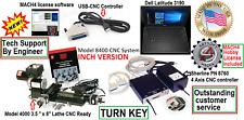 Sherline 8400 35 X 8 Lathe Cnc System Controller Laptop Inch Version