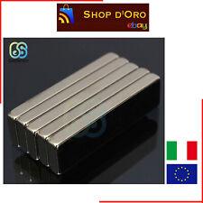 1 Pezzo Magnete al Neodimio 40x10x4mm N52 Super Potente Permanente