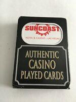 Vintage Playing Cards Suncoast Casino Las Vegas Nevada