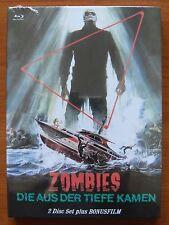 SHOCK WAVES Peter Cushing - John Carradine (dvd + blu-ray) MEDIABOOK LIMITED ED.