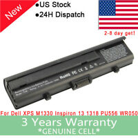 6/9 Cell Battery For Dell XPS M1330 1330 Inspiron 13 1318 PU556 WR050 / Adapter