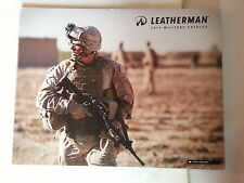Leatherman 2014 Military Catalog Booklet / New / 24 Pages / Multi-Tools / Knives