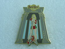 CARDIFF,Hard Rock Cafe Pin,Girl in Hall with Guitar * Closed Cafe