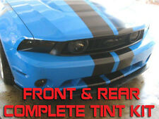 10-12 Mustang GT [FR] Tint Kit - Front & Rear  - 2010/2011/2012 - Perfectly Cut!