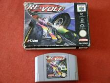 REVOLT / PAL - SPAIN - EURO / BOXED / NINTENDO 64  N64  **  339