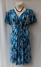 Diana Ferrari Size 16 Dress Stretch Work Smart Casual Evening Occasion Travel