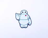 Enamel Pins Baymax Fan Art