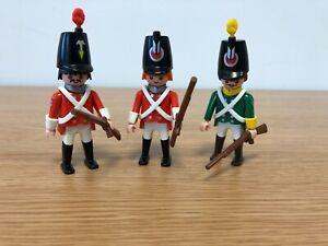 Playmobil Vintage Soldiers x 3