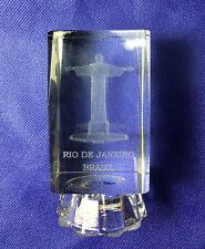 Brazil Rio de Janeiro Christ the Redeemer / Cristo Redentor Paperweight 4''