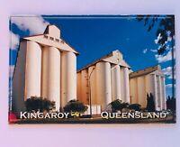 Wheat Silos Kingaroy Queensland Australia Souvenir Magnet Vintage (R11)