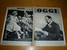 OGGI 1952/30=EVITA PERON=GIORGIO PASQUALI=FINALE LIGURE=ALDA BORELLI=GRADO=