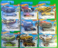 2018 Hot Wheels Cars on short Cards Numbers 81 to 170  (Your Choice)