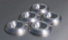 British Made - M5 -CNC TURNED-Aluminium Countersunk Washer - Fairing -5 PIECES-