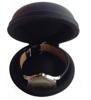Durable Watch Soft Vault Protective Travel Storage Case Reinforced Zipper Shell