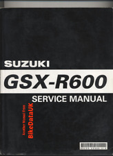 Suzuki GSXR600 K4 (2004 >) Official Factory Service Repair Manual GSXR 600 CC25