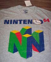 VINTAGE STYLE N64 Nintendo 64 Video Game System T-Shirt 2XL XXL NEW w/ TAG