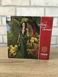 BRAND NEW Nene Thomas - Topaz Forest Fantasy Jigsaw Puzzle by Ceaco - 750 Pieces