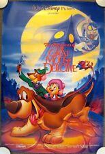 GREAT MOUSE DETECTIVE Original (R91) 27x40 Movie Poster DISNEY ~ MINT CONDITION!