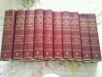 ARTHUR MEE's 10 Volume CHILDREN'S ENCYCLOPEDIA 1950/60s?