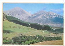 Scotland Postcard - Beautiful Rounded Red Cuillin Mountains - Isle of Skye  U469