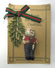 Valentine Santa Pin JUNE MCKENNA Collectible I Believe Santa In Disguise NEW