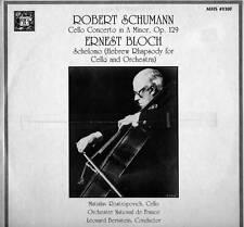 CLASSICAL LP ROBERT SCHUMANN ERNEST BLOCH ROSTROPOVICH
