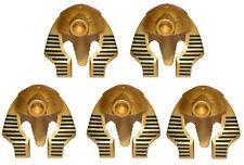 LEGO Helmet for minifigure x5 Metallic Gold Headgear Headdress Mummy Pharaoh's