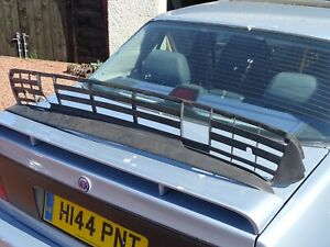 SAAB 900 CLASSIC LOWER BUMPER GRILLE AND SPOILER FRONT AERO T16S TURBO