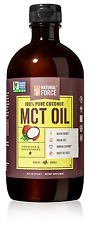 MCT Coconut Oil *RANKED #1 BEST MCT OIL* w/ NO Palm Oil only Organic Coconuts