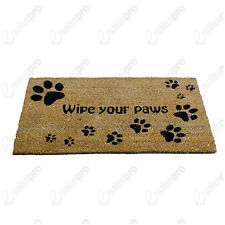 "Paw Prints Printed Door Mat From A La Maison - 75cm x 45cm (30"" x 18"")"