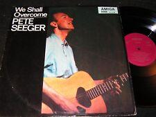 Pete Seeger We shall overcome/RDA reissue LP 1970 Amiga 845038