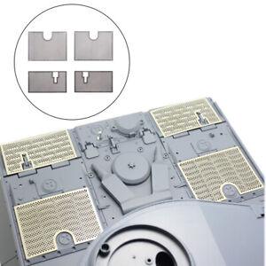 4Pcs Metal Protective Net for 1/16 Heng Long German 3818 RC Upgrade
