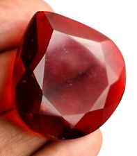 Festive Sales 106.45 Ct Red Topaz Gemstone Brazilian Pear Cut Certified B9360