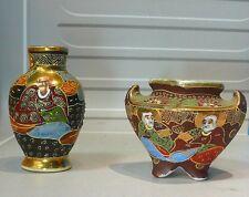 """2 pots, vase """"cloisonné"""","""