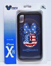 Disney WDW 4th July Patriotic Flag Minnie Apple Iphone 10 XR Cellphone Case NEW