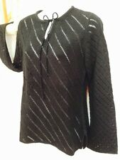 TAKEOUT Sweater Size L, Color: Black,100% Acrylic