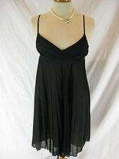 Gorgeous Sz 8 Portmans Black Cocktail Dress Designer