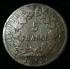 Napoléon 1er Empereur Jolie 5 Francs 1811 A Paris !