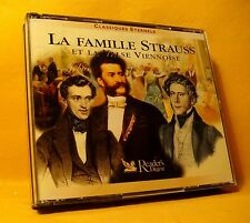 CD Reader's Digest La Famille Strauss 46TR (3XCD) Classical Viennese Waltz RARE