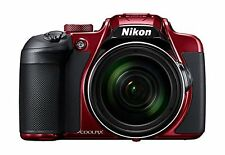 New Nikon compact digital camera COOLPIX B700 Optical 60 × zoom Red from Japan
