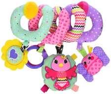 Baby Spiral Activity Toy Play Fun Hanging Cute Crib Car Seat Stroller Developer