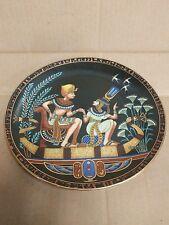 Osiris Porcelain Collectors Plate -The Legend of Tutankhamun & His Princess 1991