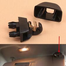 Fit For AUDI A6 C6 C7 C8 A8 D4 D5 A7 VW Polo Passat B7 Black Sun Visor Clip 1pcs