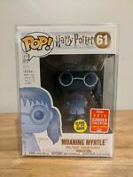 Funko Pop: Harry Potter - Moaning Myrtle - Glow in the Dark SDCC #61 + Protector